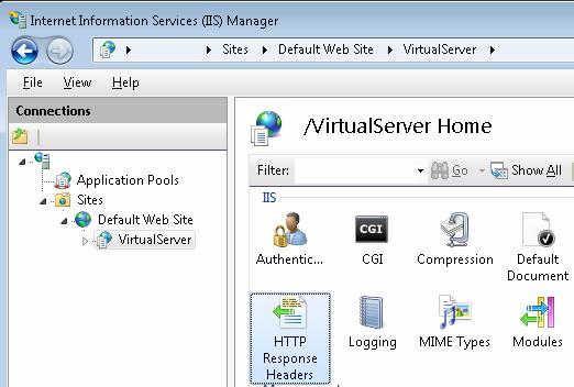 IIS for Virtual Server 2005 R2